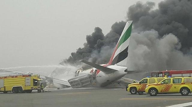 Accidente de Emirates en Dubái