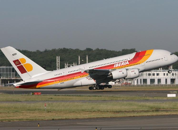 Si existiese, el A380 de Iberia sería algo así