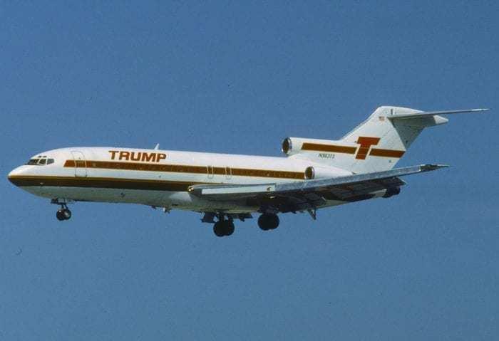Noticias de aerolíneas. Noticias de aviones. Boeing 727 de Trump