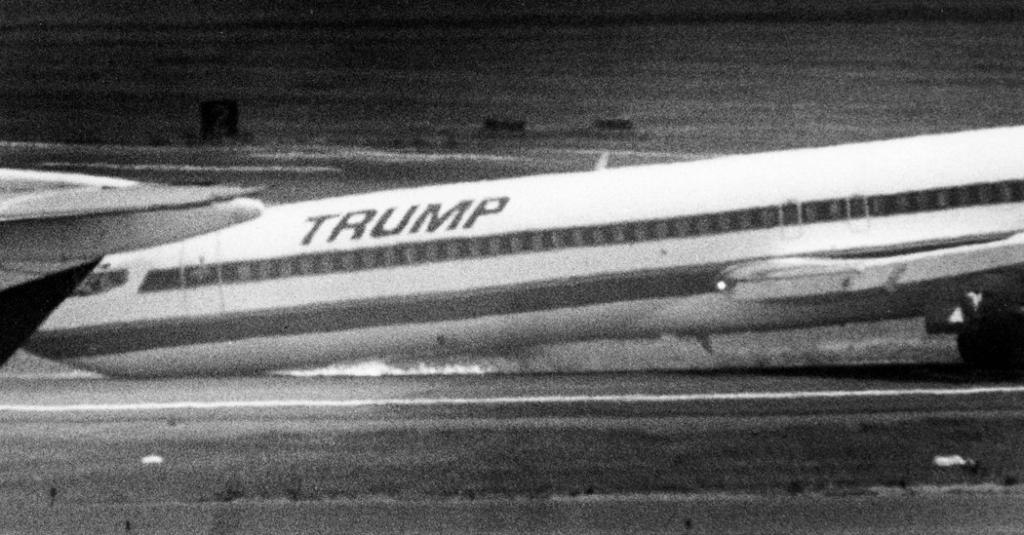 Noticias de aerolíneas. Noticias de aviones. Accidente de Trump Shuttle