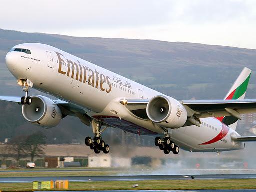 Boeing 777 de Emirates