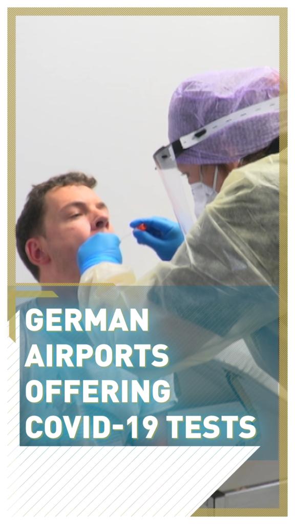Tets PCR en aeropuertos alemanes