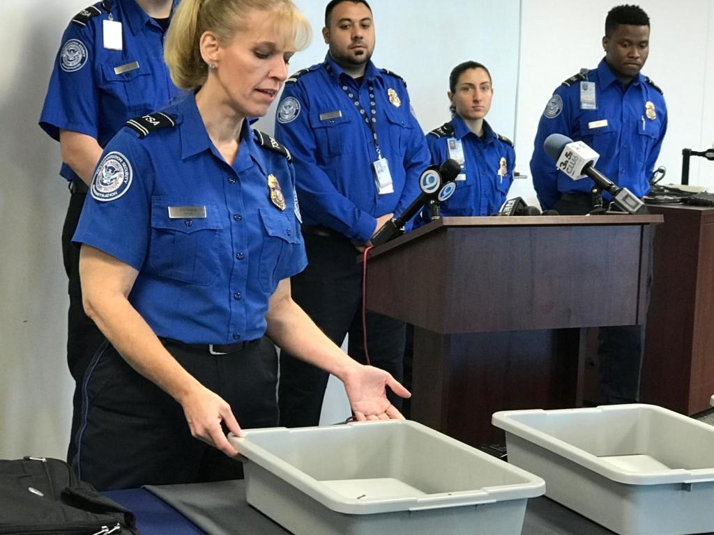 Empleados del TSA norteamericano