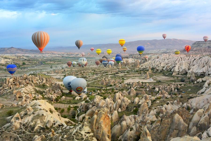 Capadocia, destino turístico en Turquía