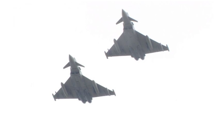 aviones militares eurofighter typhoon