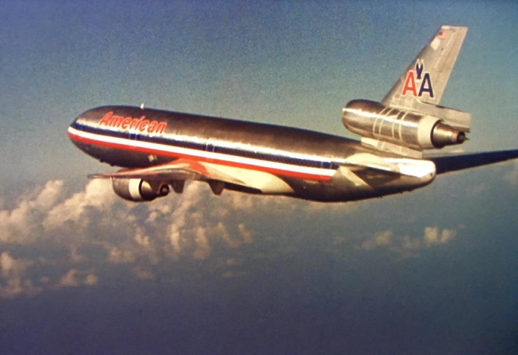 Primer DC10 de la compañía American Airlines