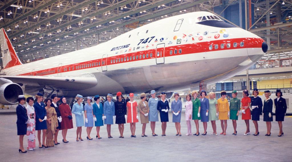 Primer Boeing 747-100 construido