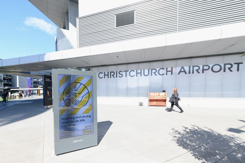 Aeropuerto de Christchurch en Nueva Zelanda
