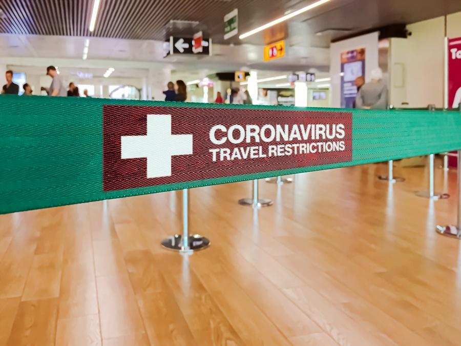 Controles sanitarios en los aeropuertos