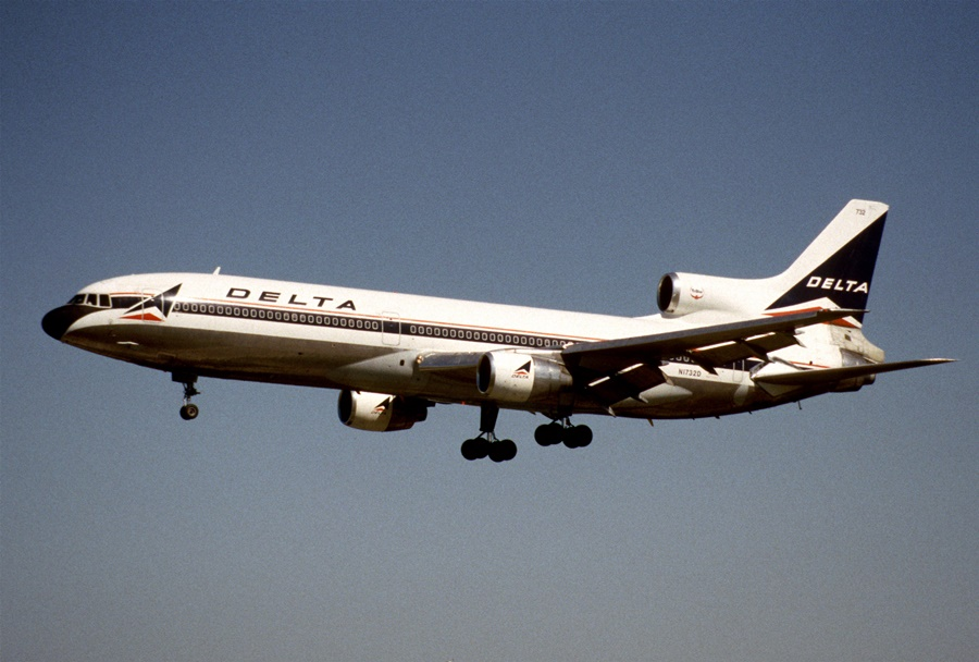 Primer Lockeed 1011 de la aerolínea Delta
