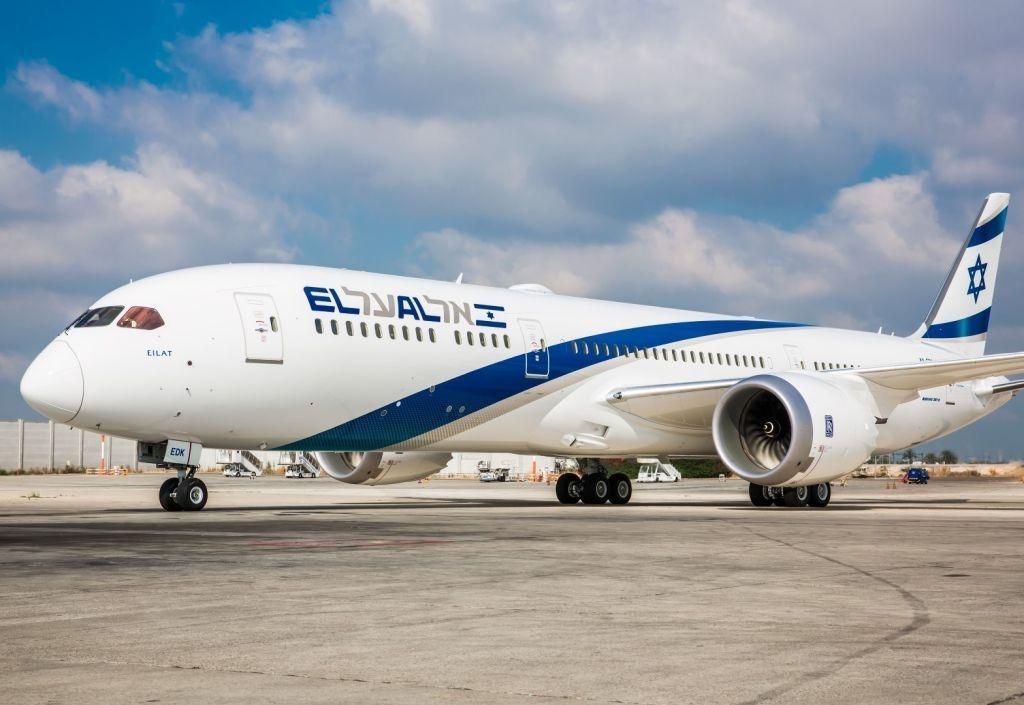 Boeing 787 de la compañía israelí El Al