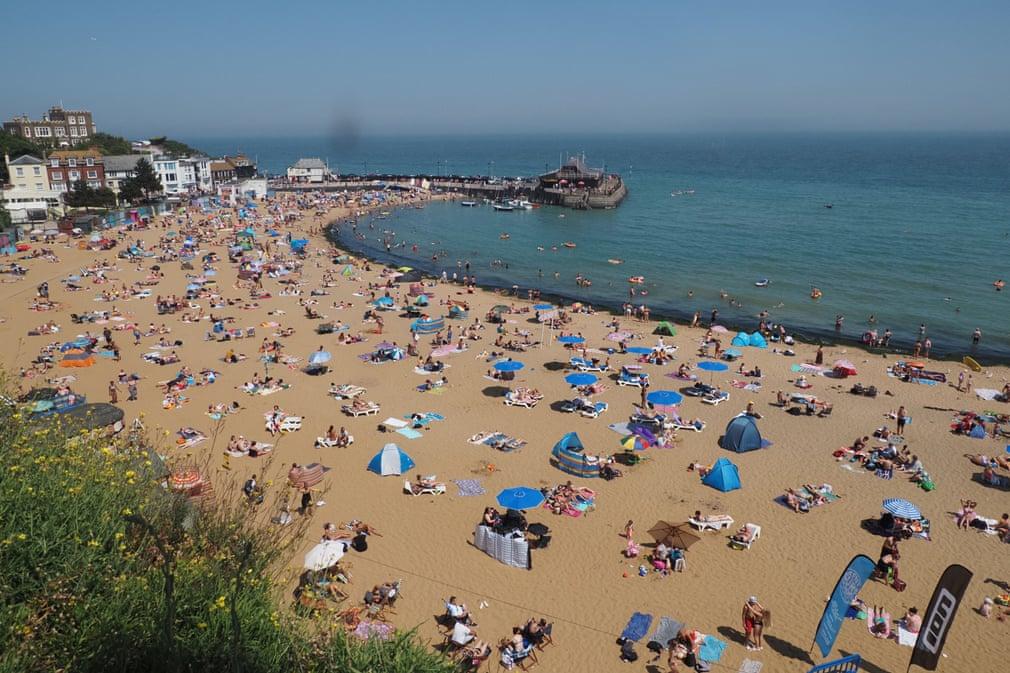 Playa en el condado de Kent