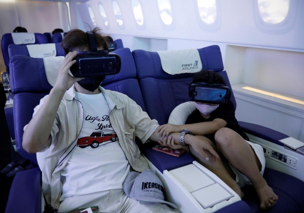 Vuelos virtuales en Japón