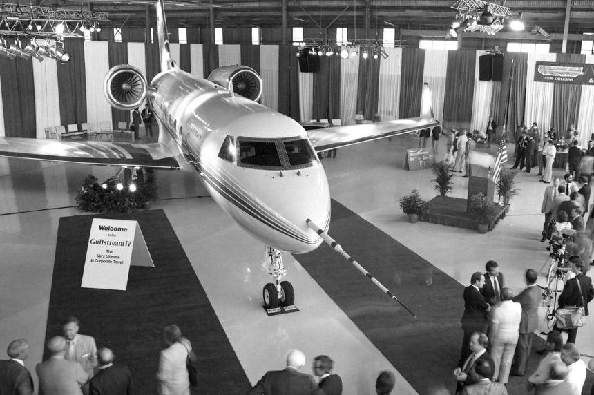 Presentación del modelo Gulfstream IV
