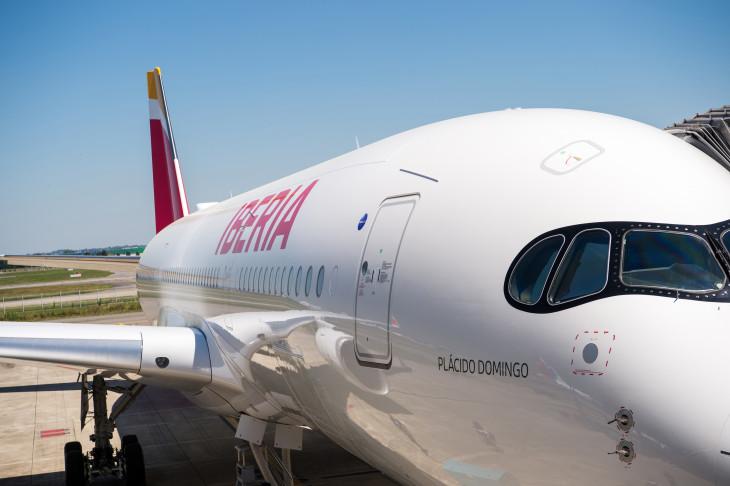 Airbus A350 de Iberia