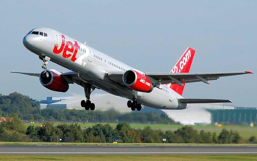 Avión de la flota de Jet2