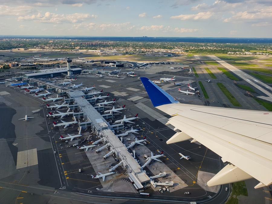 Aeropuerto JFK en la ciudad de Nueva York