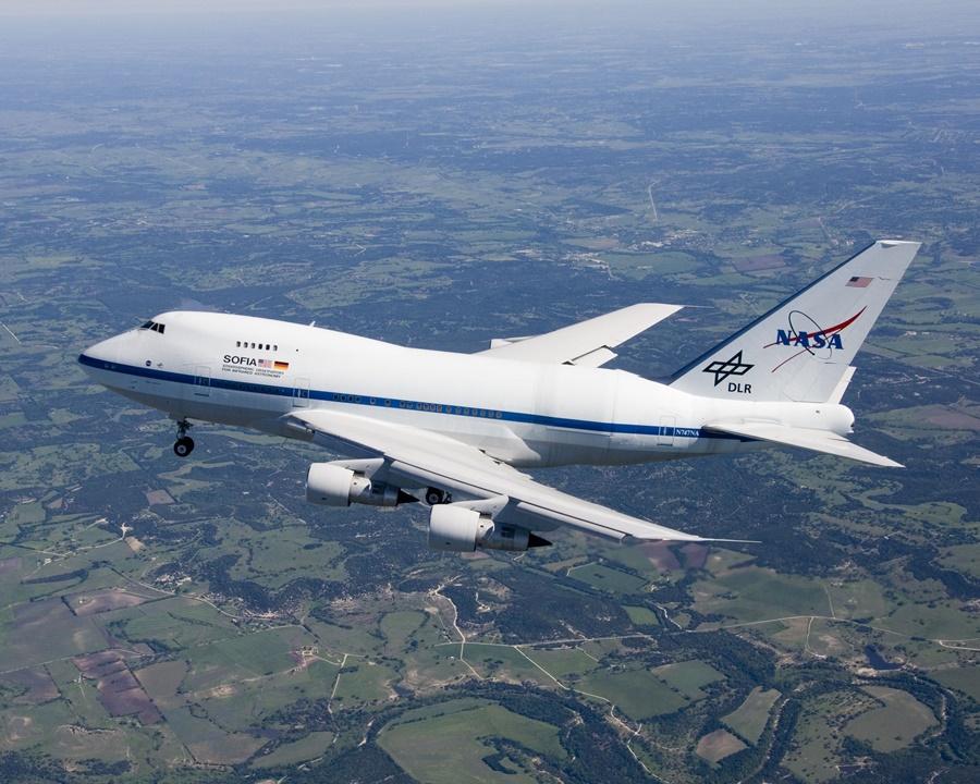 Boeing 747SP perteneciente a la NASA
