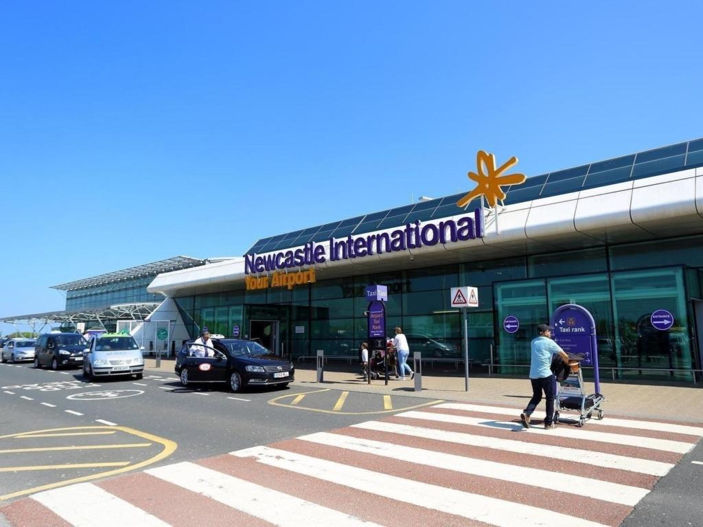 Aeropuerto Internacional de Newcastle, en el Reino Unido