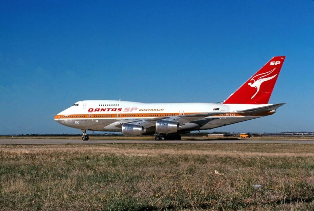 Boeing 747SP de la aerolínea australiana Qantas
