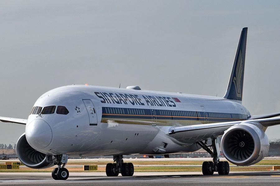 Boeing 787 Dreamliner de la compañía Singapore Airlines