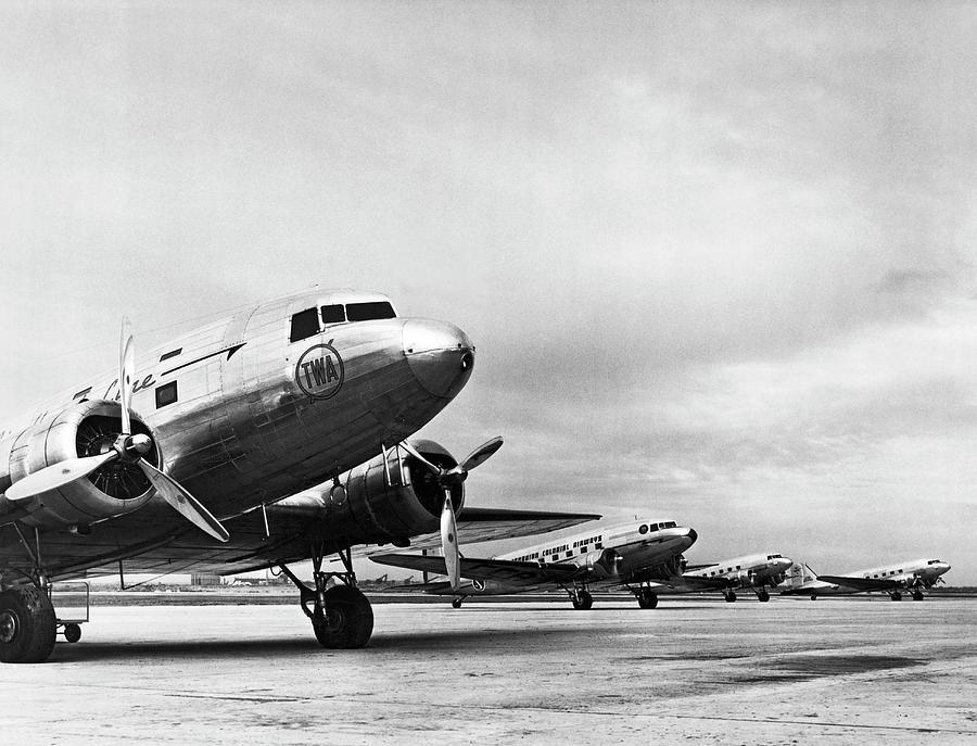 Antiguos aviones de la TWA