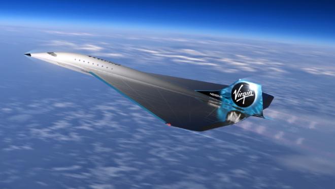 Avión supersónico de Virgin Galactic