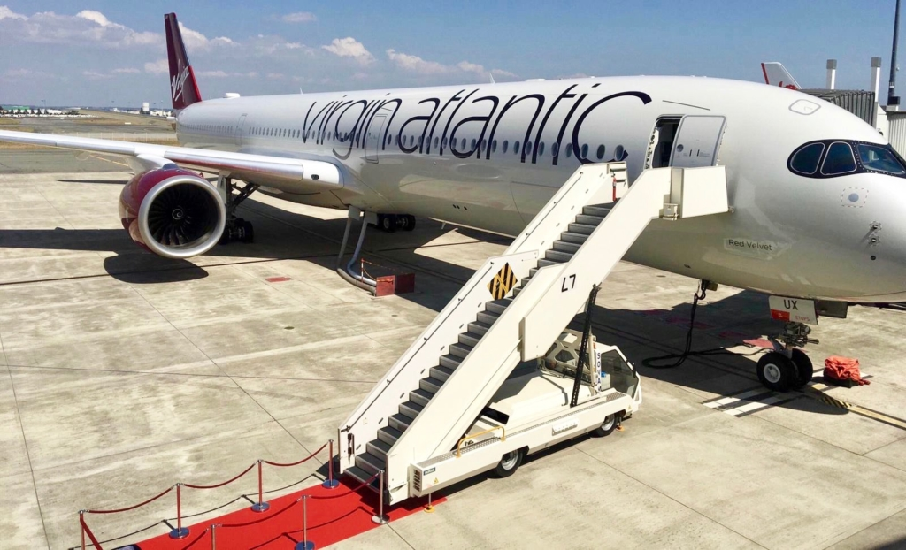 Airbus A350 de Virgin Atlantic