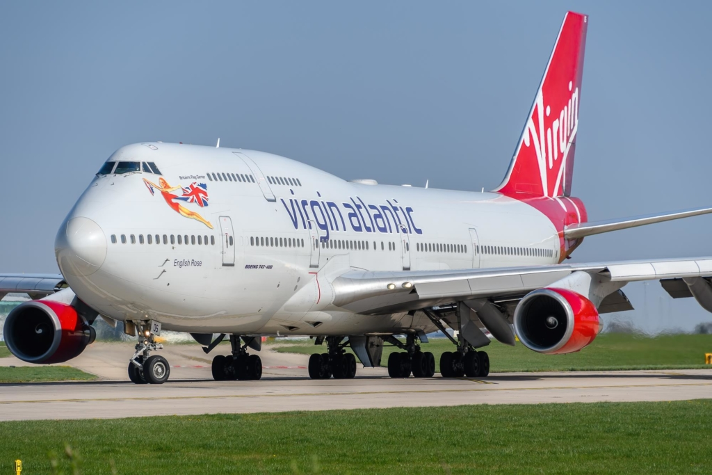 Boeing 747 de Virgin Atlantic