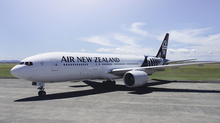 Noticias de aerolíneas. Avión de Air New Zealand