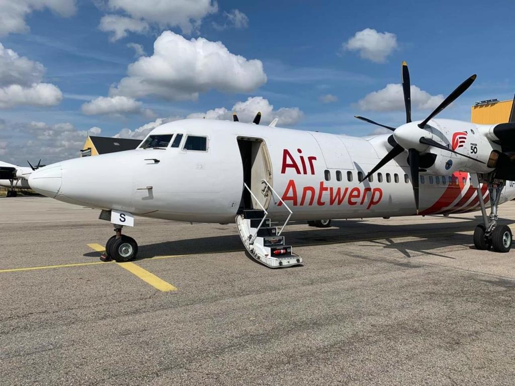 Fokker 50 de Air Antwerp