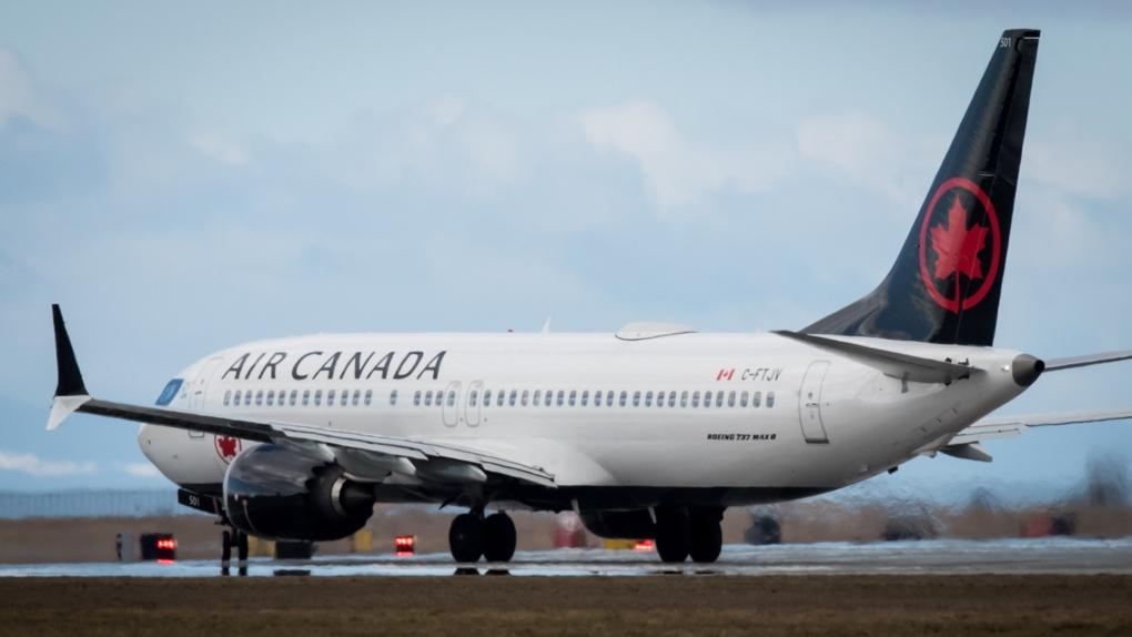 Noticias de aerolíneas. Avión de Air Canada