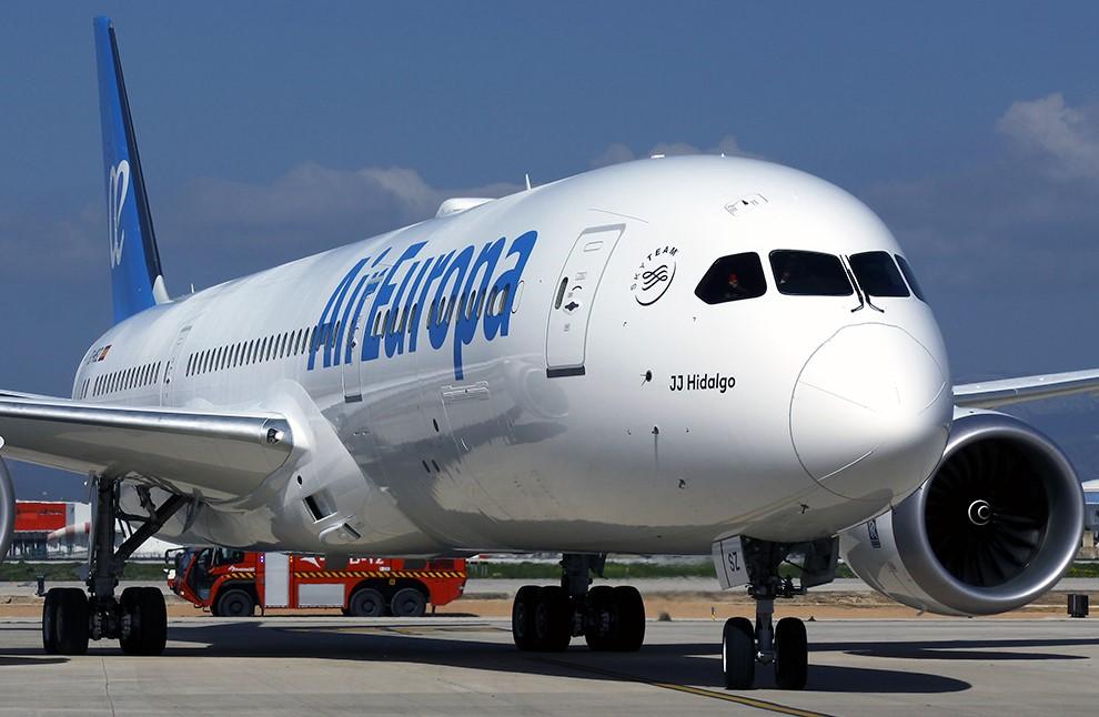 Boeing 787 de la aerolínea Air Europa