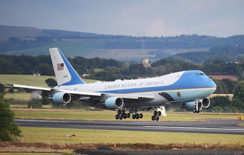 Air Force One, avión presidencial de los EEUU