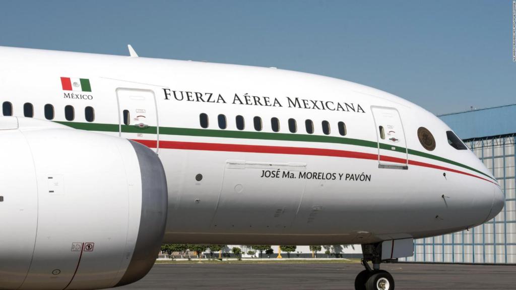 Boeing 787 avión presidencial de México