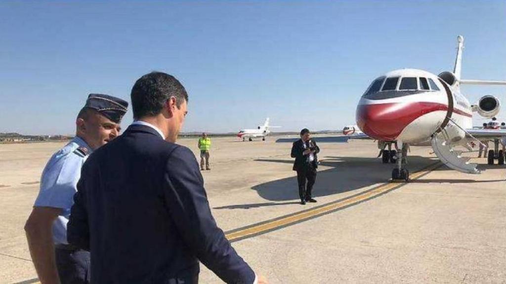 Falcon avión presidencial español