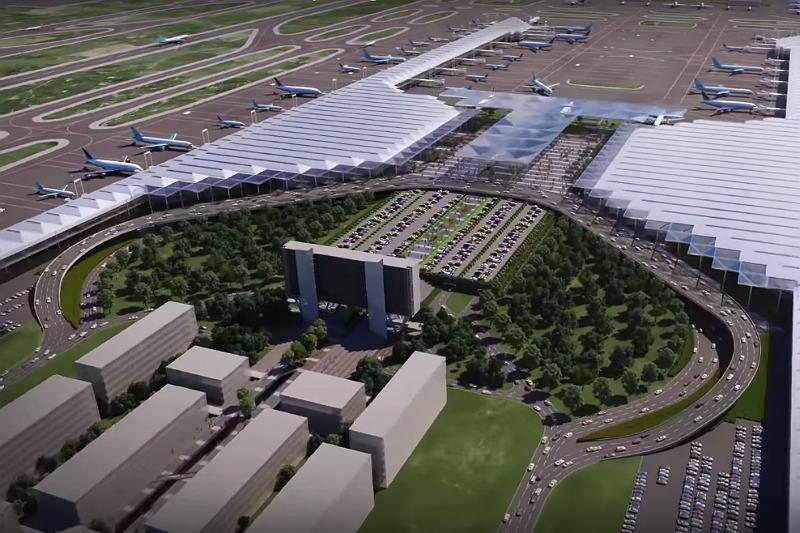 Aspecto que tendrá el nuevo aeropuerto Felipe Angeles