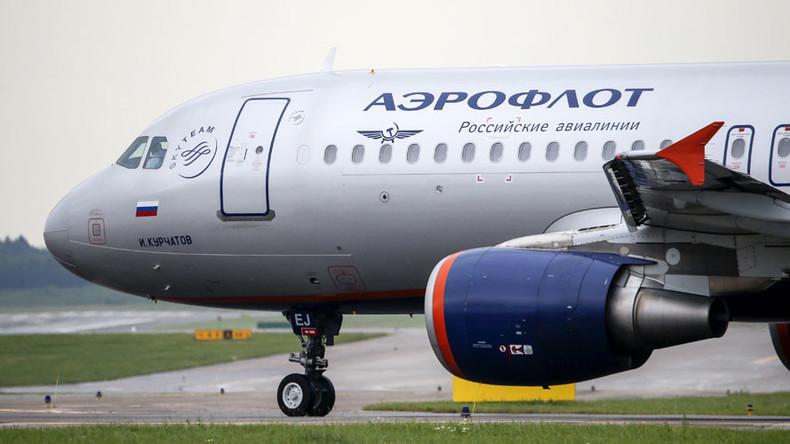Noticias de aerolíneas. Avión de Aeroflot