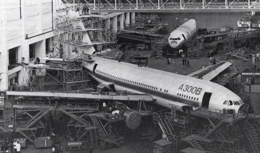 Construyendo el primer Aibus A300B