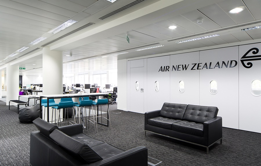 Oficinas de Air New Zealand