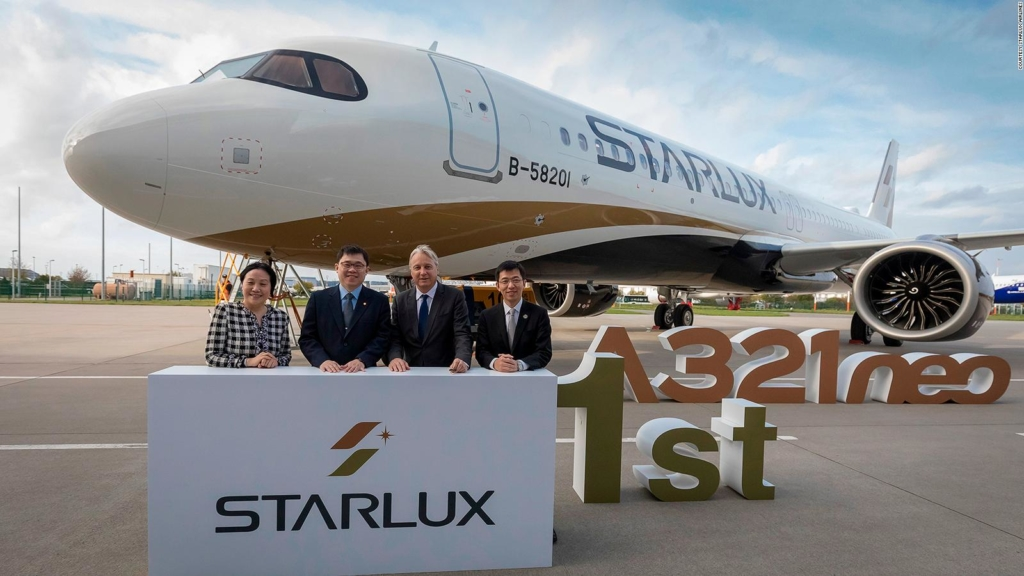 Presentación Airbus A321neo de Starlux