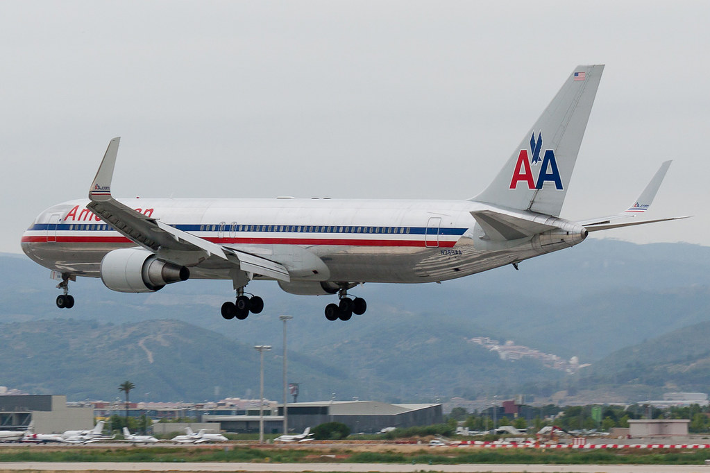 Boeing 767-300ER con winglets