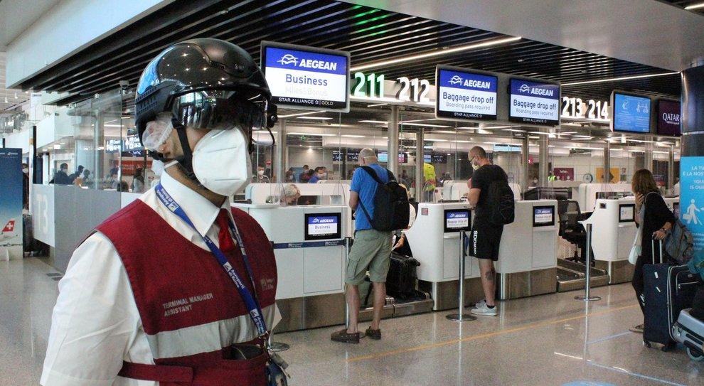 Aeropuerto de Fiumicino en Roma