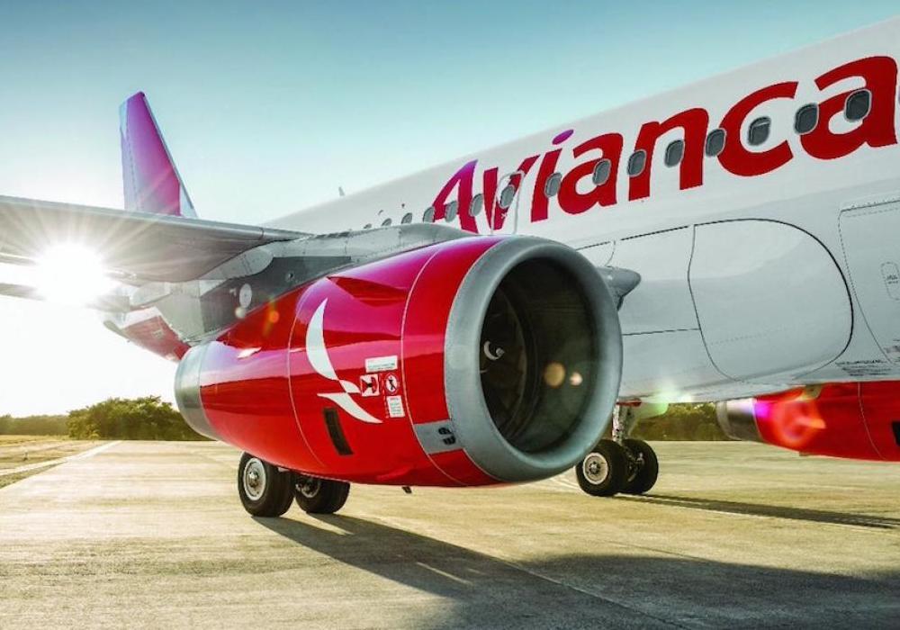 Avión de la compañía aérea Avianca | Noticias de aerolíneas.