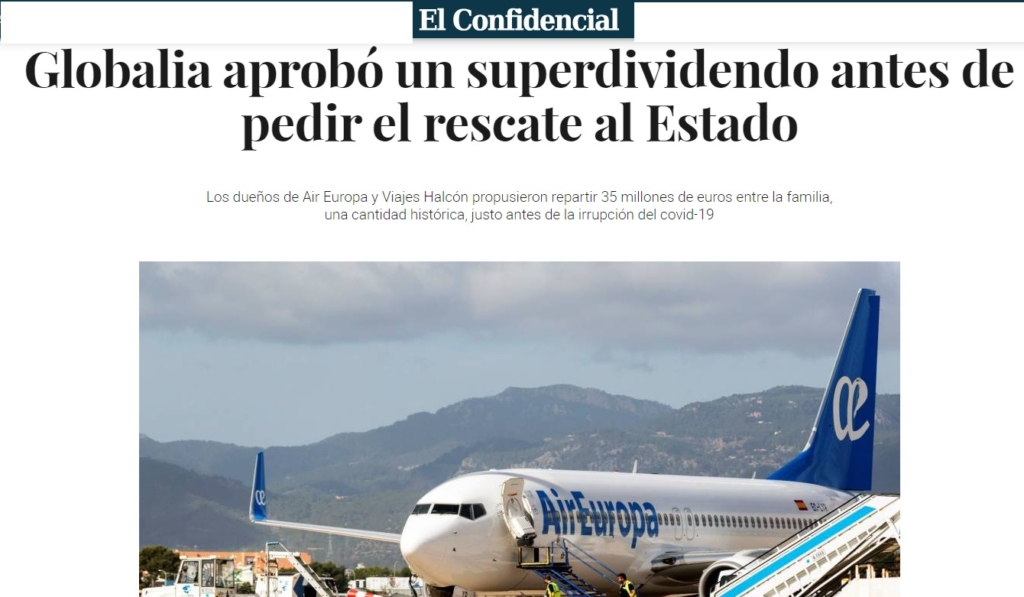 Avión de la compañía aérea Air Europa | Noticias de aerolíneas
