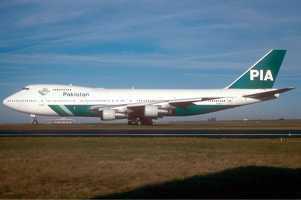 Boeing 747 de la aerolínea PIA