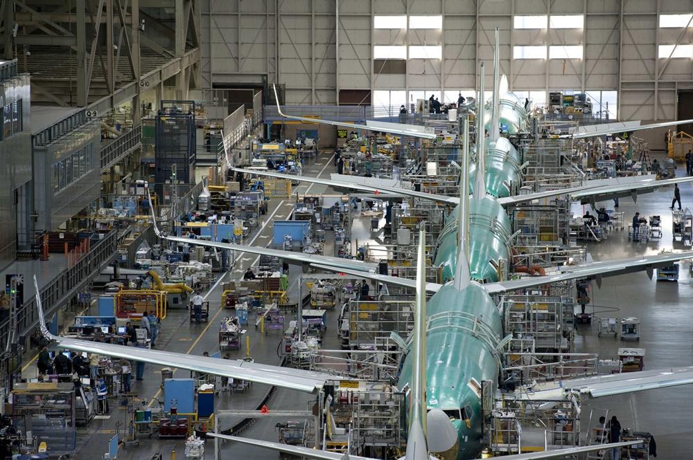 Fábrica del constructor aéreo Boeing