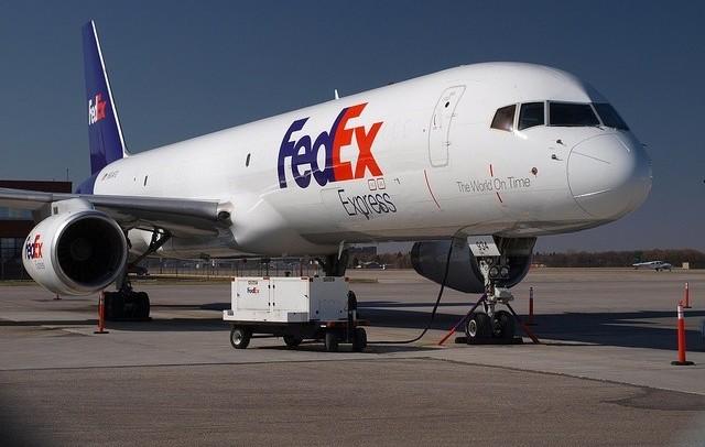 Avión de carga de la compañía Fedex