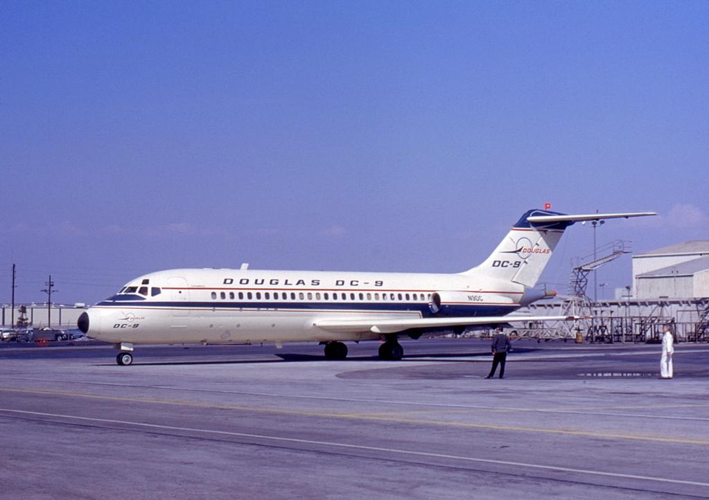 Primer Douglas DC-9