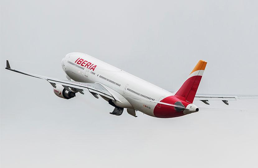 Airbus A330 de la flota de Iberia